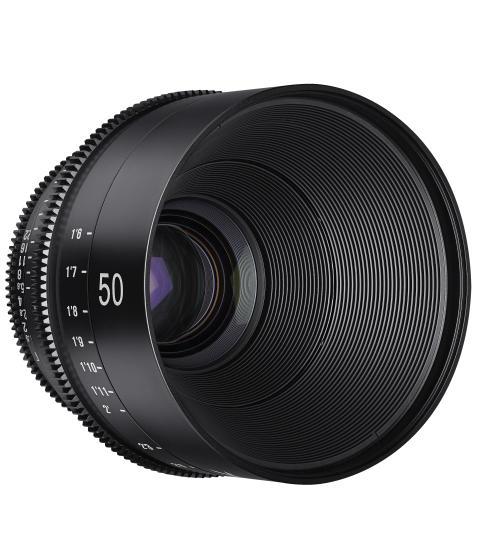 XEEN 50mm T1.5 skrå forfra