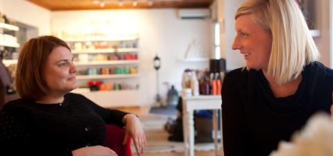 Positivt trendbrott i lönsamheten för småföretag inom servicenäringen
