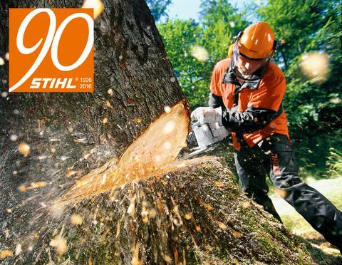 STIHL - til profferne i skoven