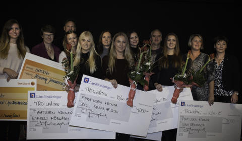 Utlandsstudier belönades med stipendier