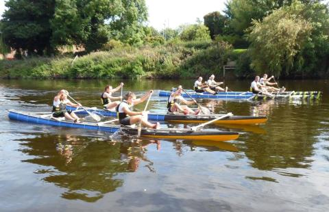 Water way to raise money for Herefordshire charities!