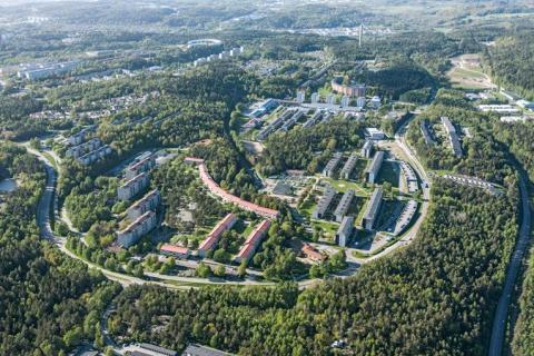Kulturhus och 1 500 nya bostäder i Bergsjön