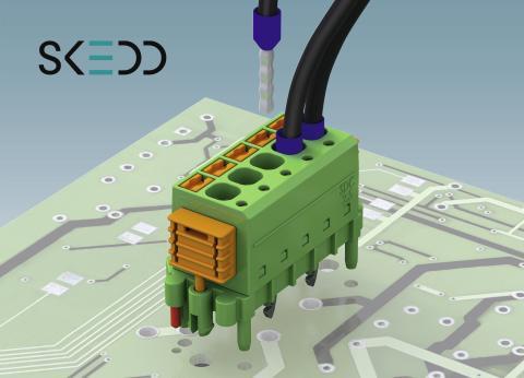 Direkte tilkobling av pluggforbinderne på kretskortet