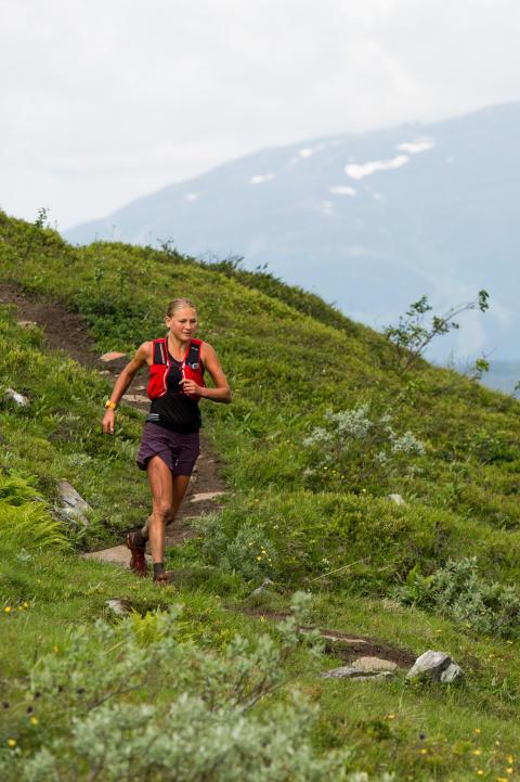 Ida Nillson tog tredje rak segern i Kia Fjällmaraton