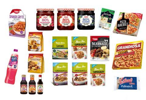 Her er matnyhetene fra Orkla Foods Norge