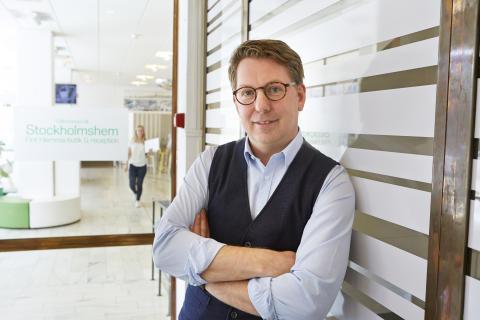 Morgan Jansson inköpschef Stockholmshem och iniativtagare till Rättvist byggande.