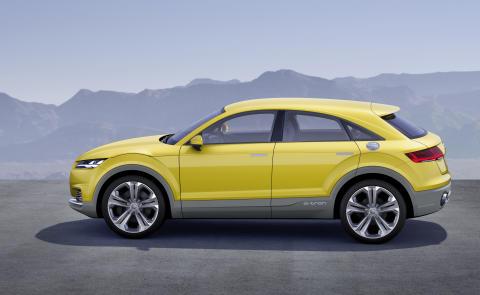 Konceptbilen Audi TT offroad