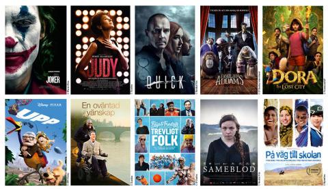 Nya filmer och 10-talets succéer