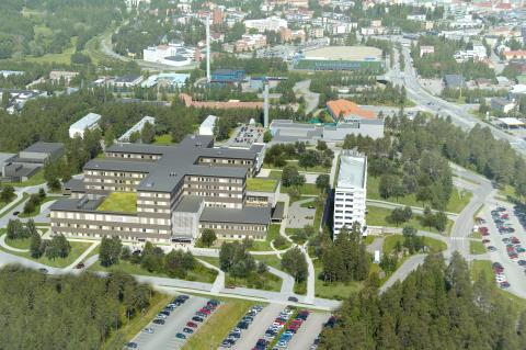 Kainuu hospital view