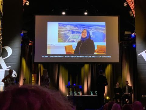 Pär Englund vann filmtävling i Sunne
