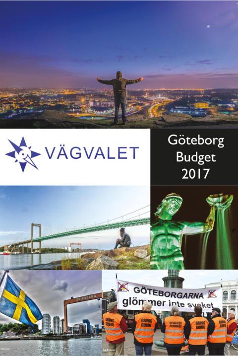 Vägvalets förslag till budget 2017 för Göteborg Stad