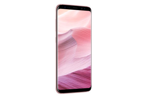 Galaxy S8 Rose Pink_Left
