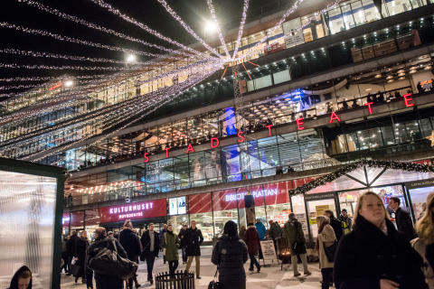 #Stockholmsjul 2015 Sergels torg