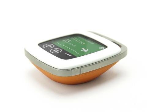 miniMe showing blood glucose data