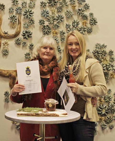 Inlagd pepparriska med granskott tog silver i Jämtland