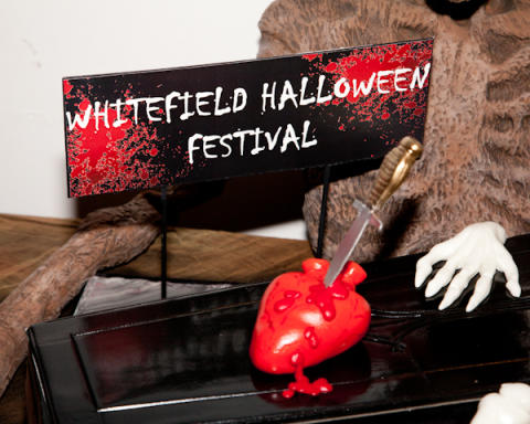 Half-term Halloween treats in Whitefield
