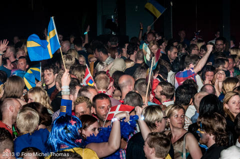 Publiksuccé med besöksrekord under Eurovision