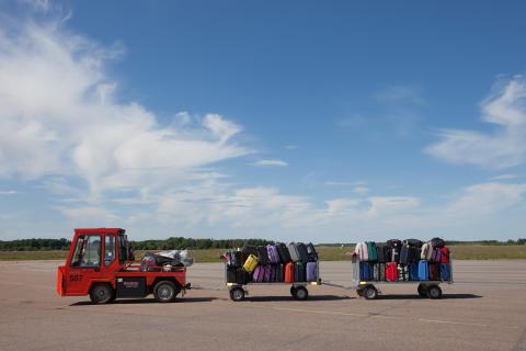 Väskor på väg
