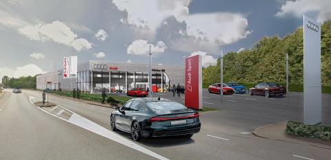 Ny Audi-anläggning för Möller Bil i Göteborg