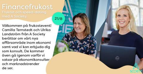 Financefrukost Stockholm