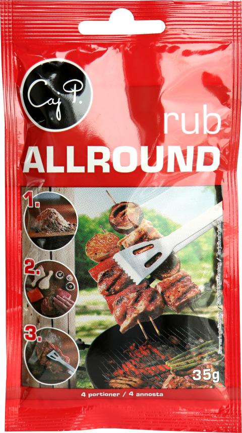 Caj P Rub Allround