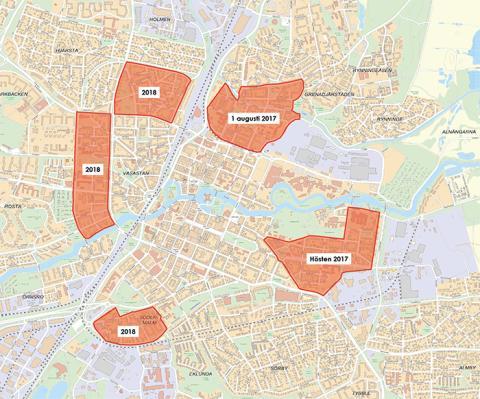 Pressinbjudan: Parkeringsavgift införs på kommunala parkeringar