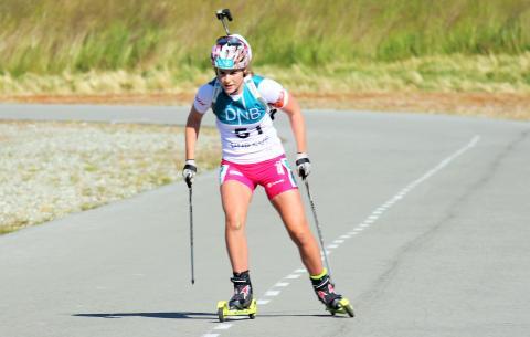 NM rulleskiskyting 2015 sprint Sigrid Bilstad Neraasen