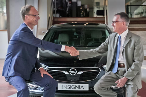 Birth of a European Champion: Opel and Vauxhall join Groupe PSA