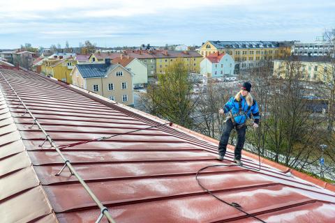 Inspektion inför takskottning