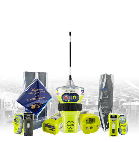 Hi-res image - ACR Electronics - Award-winning ACR Electronics manufactures beacons and other equipment for the marine and outdoor markets