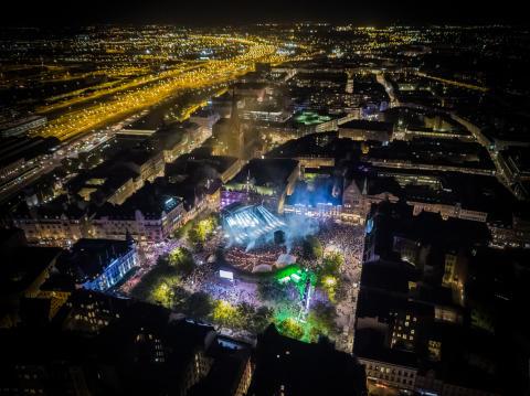 Steve Angellos konsert Malmöfestivalen fredag 17 augusti 2018