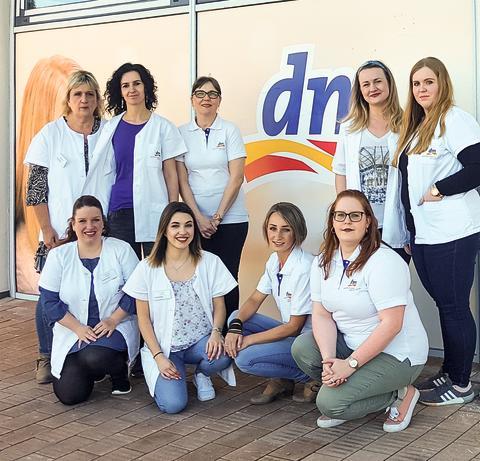 Mit großer Spendenaktion eröffnet der dm in der Köllner Straße in Püttlingen