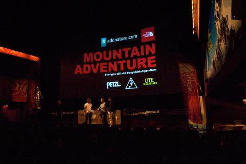 Utdelning av Mountain Adventurestipendiumet