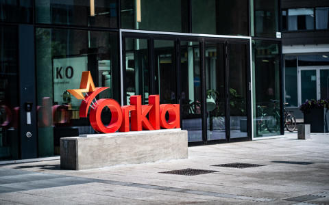 Orkla listed in the Dow Jones Sustainability Index
