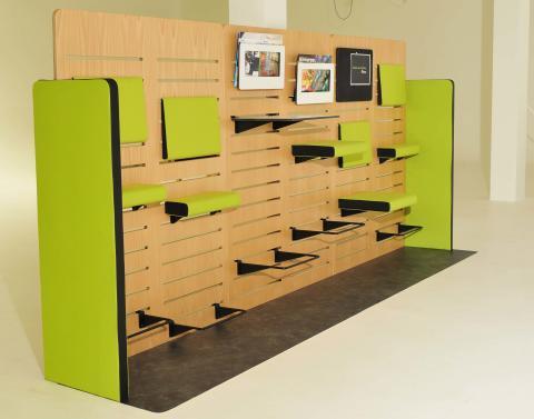 Kinnarps och Design med Omtanke i samarbete - presenterar två möbelprototyper för offentliga miljöer