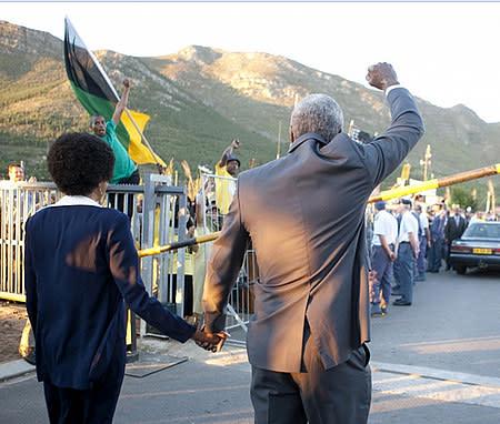 Långfilm om Mandela på biograferna till hösten