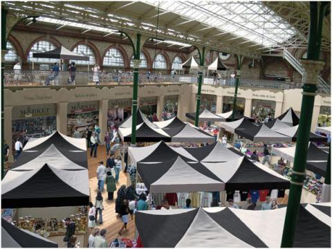 Market Hall Refurbishment Work Well Underway