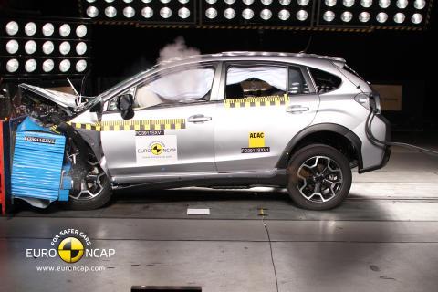 Subaru XV fick toppbetyg i Euro NCAP 2011