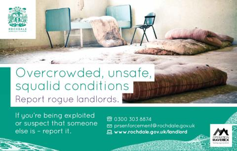 Operation Maverick to tackle Rochdale borough's rogue landlords