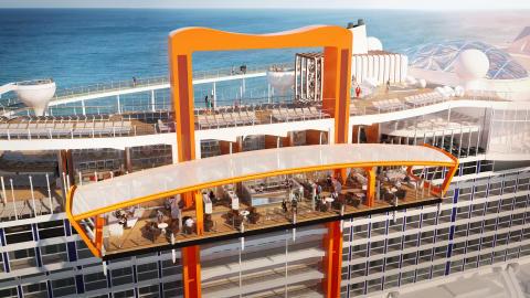 Celebrity Cruises lanserar Europasäsongen 2019 med sitt allra nyaste fartyg Celebrity Edge