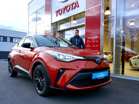 Oppgradert Toyota C-HR er klar for veiene i Brønnøysund