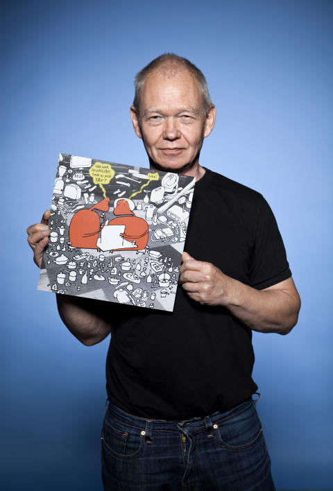 Illustratören Ulf Frödin med i Diakonias julkampanj