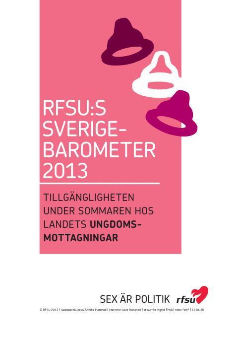 Sverigebarometern 2013