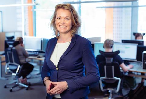 Margit Unander, direktør privatmarked i LOS