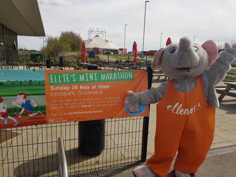 Join Ellie for her first Mini Marathon