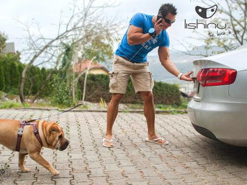 Lishinu Håndfri Hundesnor