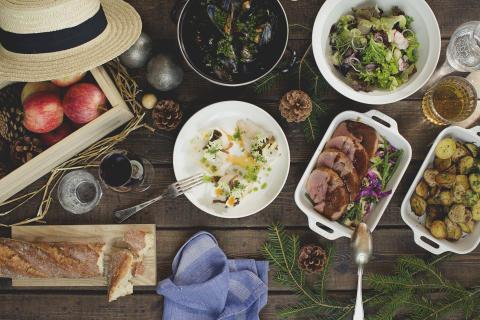 Alternativt julbord med sydfransk mat och boule