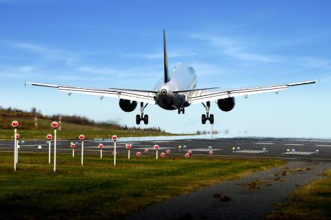 Landning Göteborg Landvetter Airport
