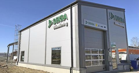 DEKRA öppnade den 26 april 2019 sin andra station i Umeå