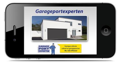Byt garageport i mobilen